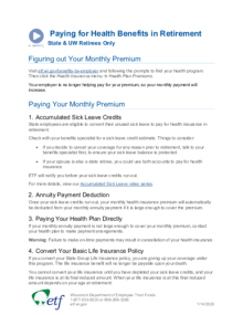 Video Resource: Paying for Health Benefits in Retirement