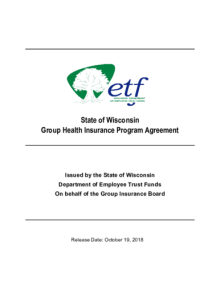 2018 State of Wisconsin Group Health Insurance Program ...