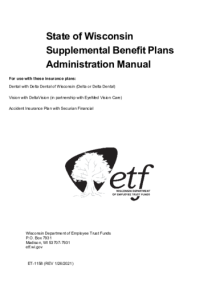 State of Wisconsin Supplemental Benefit Plans Administration ...