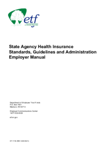 State Agency Health Insurance Standards, Guidelines and ...